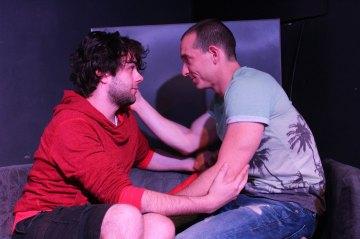 Rada Bálint (pirosban) balra és Bódy Gergő jobbra
